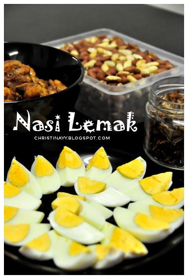 Home-Cook Nasi Lemak: Boiled Egg