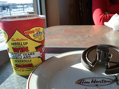 Tim Hortons Coffee Roll Up the Rim to Win - Please Try Again - Reessayez SVP
