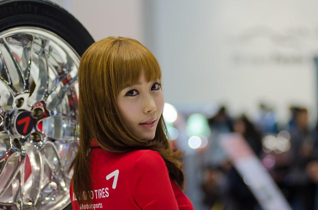 Kumho Tire Girl