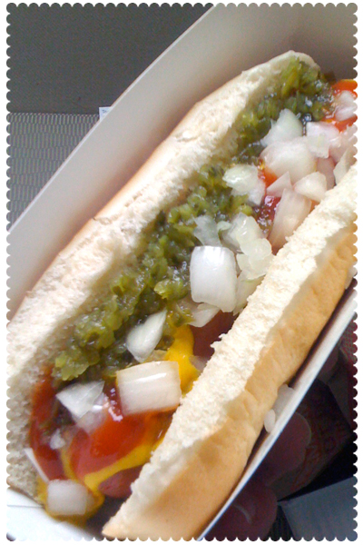 Sonic's All-American Hot Dog