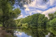 Tow Sawyer (christian&alicia) Tags: nature water colors rio river landscape sigma catalonia nik catalunya riu paisatge ter catalogne d90 christianalicia ilobsterit
