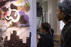 CLOSING RECEPTION (SXU-ART) Tags: sxu oppositesunite yinyang cathieruggiesaunders collaborativeartproject pictures photography vac visualartscenter partnerproject 2016 fall2016 sxugallery