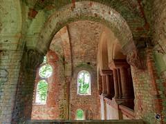 Prinz-Wilhelm-Gedchtniskirche 11 (Moddersonne) Tags: lost place urbex verlassen abandoned decay kirche ruine kirchenruine prinz wilhelm gedchtniskirche polen teufel kirchturm