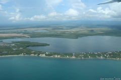 Goodbye Belize Tour - Aerial - Placencia to Belize City - 10 (Dis da fi we (was Hickatee)) Tags: goodbyebelizetour aerial placencia belizecity belize