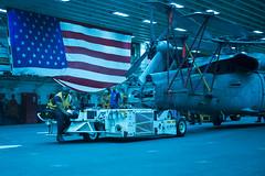 160928-N-JS726-025 (SurfaceWarriors) Tags: navy marines amphibiousassault southchinasea bonhommerichard aviationboatswainsmate handler expeditionarystrikegroup underway deployment military