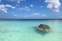 Mauritius - sunken boat 3 (Romeodesign) Tags: ocean sea beach water island boat underwater turquoise maurice indianocean ile tropical sunken mauritius sank 550d
