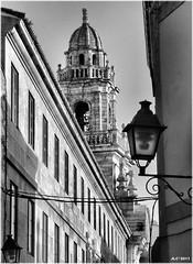 1842-Cidade Vella (Coruña) (jl.cernadas) Tags: city cidade blancoynegro monochrome coruña ciudad bn iglesias acoruña lacoruña cidadevella igrexas