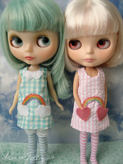 rainbow pocket dresses!