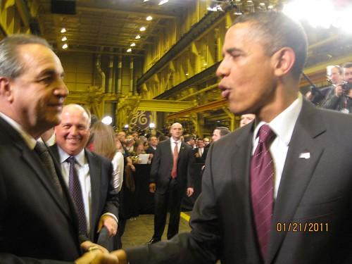 Obama at GE