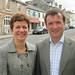 Angela Jones Evans & Alun in Cowbridge