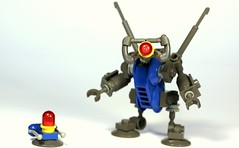 HC Series Robot (Legoloverman) Tags: blue robot lego hc blip hcseries