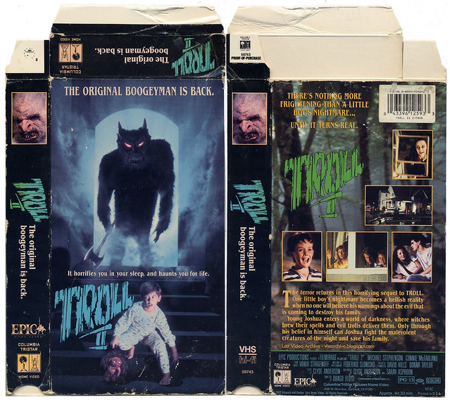 Troll 2 (VHS box cover)