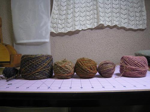 Orphan yarn