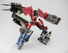 Transformers Smolder Power Core Combiners - modo combinado