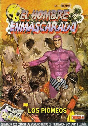 029-El hombre enmascarado- nº 4- Tebeos S.A.- Edicion Historica