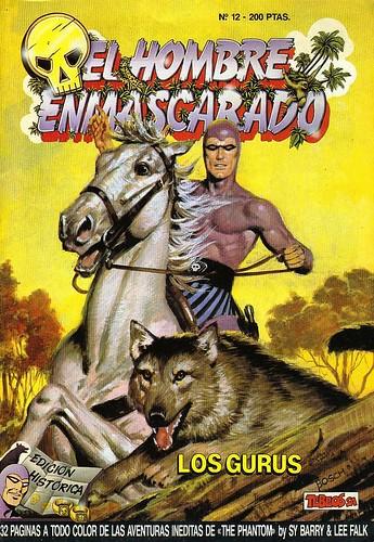 030-El hombre enmascarado- nº 12- Tebeos S.A.- Edicion Historica