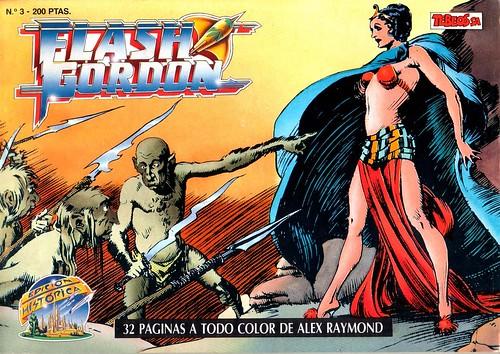 004-Flash Gordon nº 3-Tebeos S.A-reedicion 1988-portada