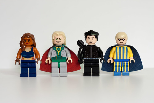 Custom minifig DC Supervillain Minifigs - Wave 9