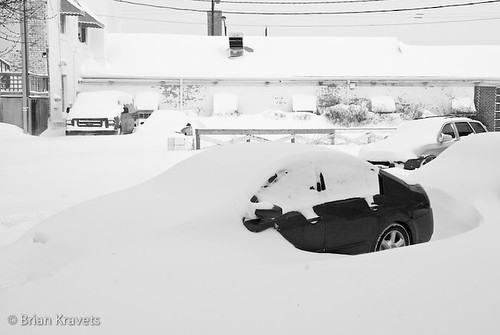 Blizzard 2011, Chicago, Illinois