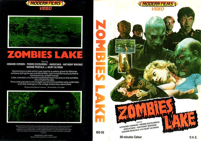 Zombie Lake 1 (VHS Box Art)