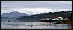 PS Maid of the Loch (ThistleDhu1) Tags: scotland lochlomond paddlesteamer 2011 maidoftheloch canonsx30is