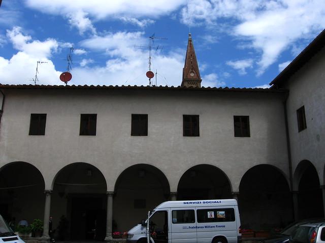 イタリアの消防署のフリー写真素材