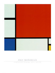Piet Mondrian - Composition with Red Blue Yellow