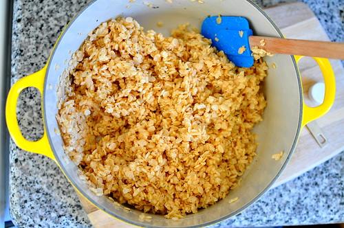 Rosemary Rice Krispy Treats