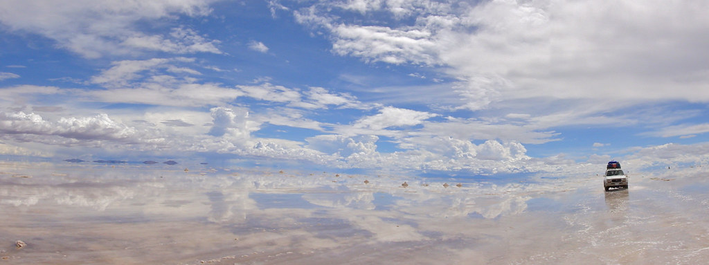 Leaving the Salar