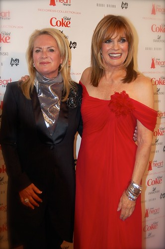 Linda Gray and Pamela Roland