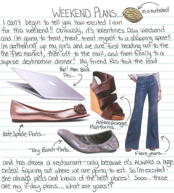 Weekend Plans 2.11.11