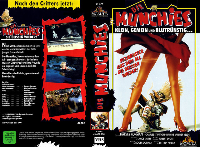 Munchies (VHS Box Art)