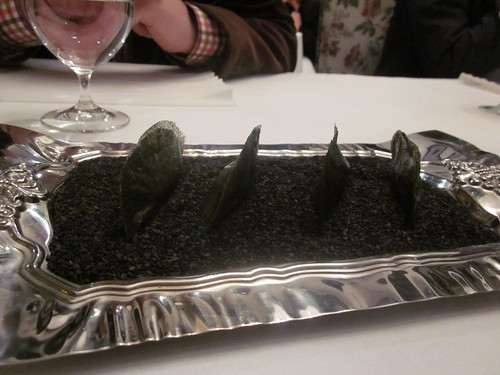 El Bulli - Roses - February 2011 - Nori Seaweed with Lemon