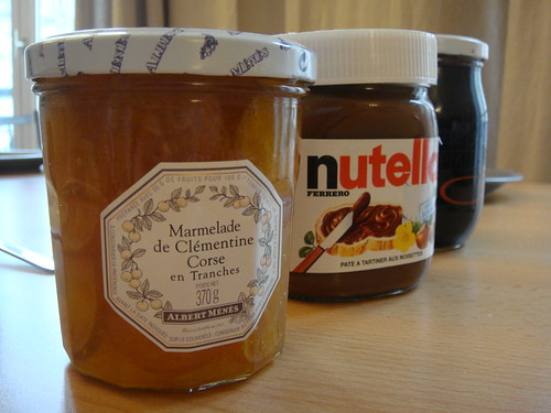 confiture nutella