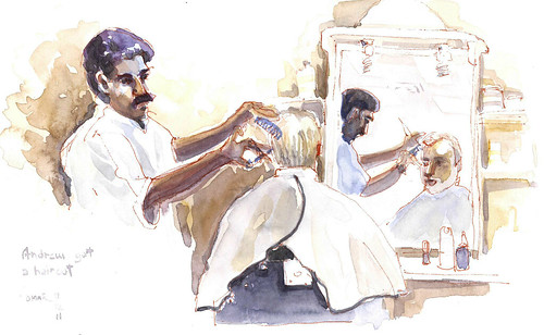 indian barbershop