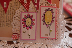 Be Mine, xo (fertree33~Jen Bowles) Tags: black illustration pen cards handmade valentine pitt doily whimsical cardstock jenbowlesdesign