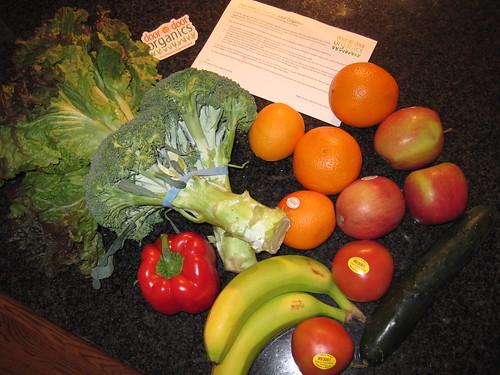 Door to Door Organics Food In Bitty Box
