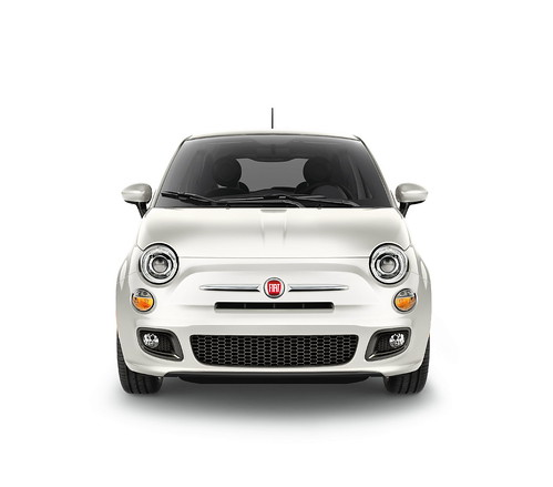 New 2012 Fiat 500 in Bianco Perla