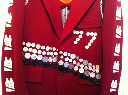 front of the Blazer blazer