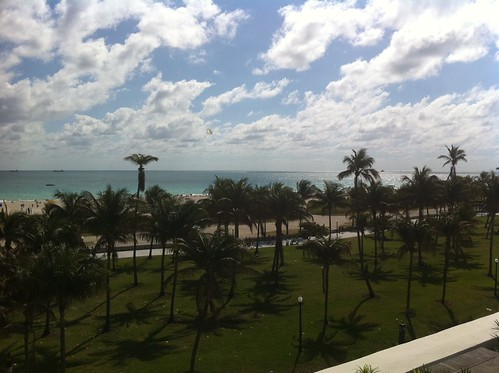 View in Miami Beach - wish you were here!