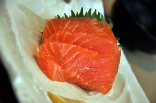 Pasta Zamai Salmon Sashimi