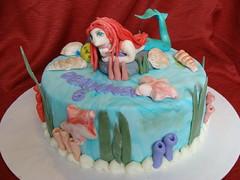 Little Mermaid Cake (cupcake138td) Tags: cake little mermaid