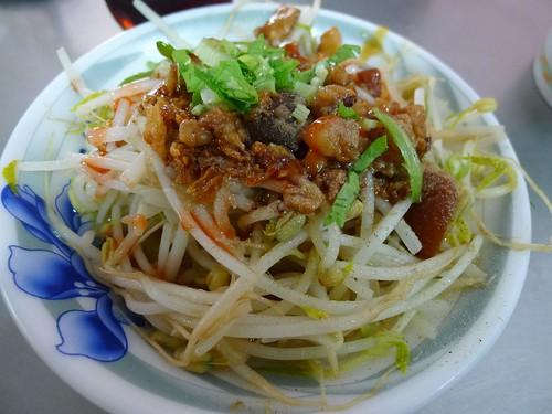 豆芽菜@清水「阿財米糕店」