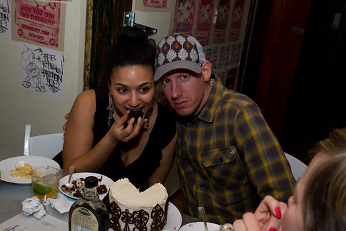 We go hard at Midnight Brunch. And we eat cake.