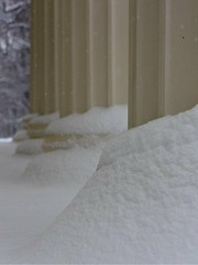 Columns in Winter (donsutherland1) Tags: winter snow ny newyork nature columns 19thcentury snowstorm rye february soe greekrevival 1838 topshots flickraward jayestate peteraugustjay jaymansion flickrsportal ringexcellence peteraugustusjaymansion
