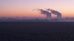 Avis de tempête (photosenvrac) Tags: landscape photo ciel paysage centrale loiretcher fumée nucléaire supershot