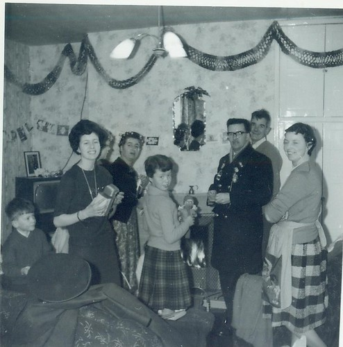 McCreath and Mitchell families 1962