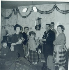 Image titled McCreath and Mitchell families 1962