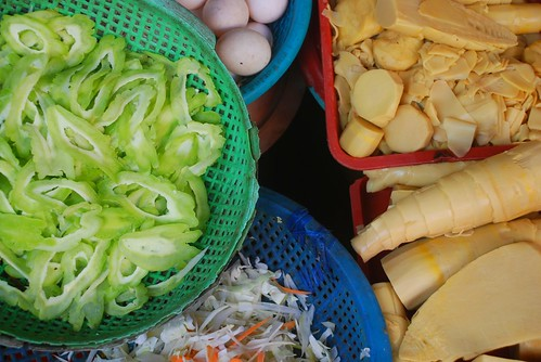 prepped vegetables, Hoi An