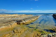 La Costa Blanca (Fotomondeo) Tags: las sea sky espaa beach de mar spain sand cabo nikon playa lagoon alicante cielo laguna arens huertas d3000 gettyiberiasummer
